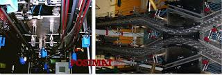 Posijet air conveyor modular construction