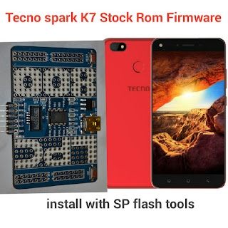 download Tecno Spark  K7 Official Stock Rom Firmware