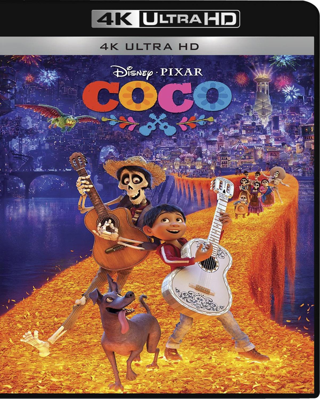 Coco [2017] [UHD] [2160p] [Latino]
