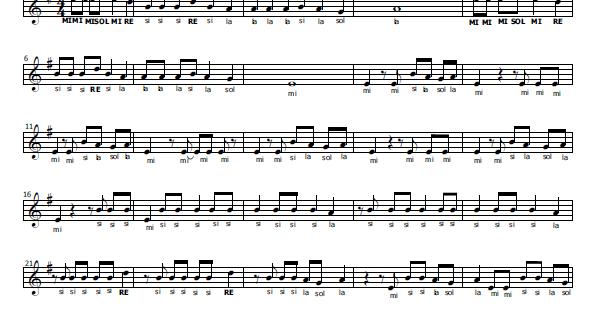 Musica E Spartiti Gratis Per Flauto Dolce Libre Alvaro Soler E