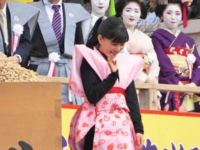 成田山節分祭 芳根京子