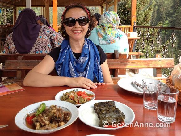 Ayder yaylasında Eylül restaurantta, Rize
