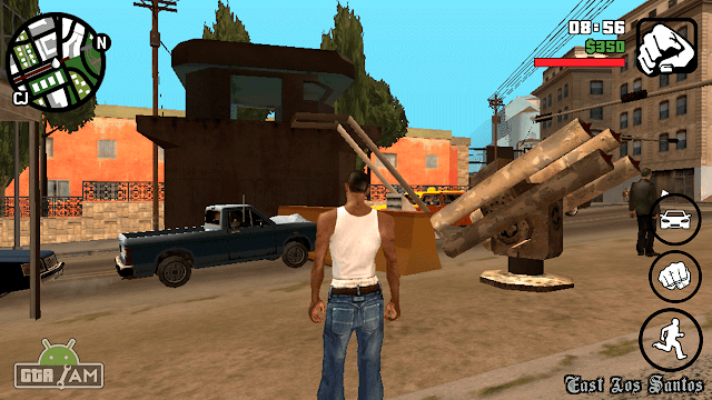 spawn buildings and sam gun gta sa android mod