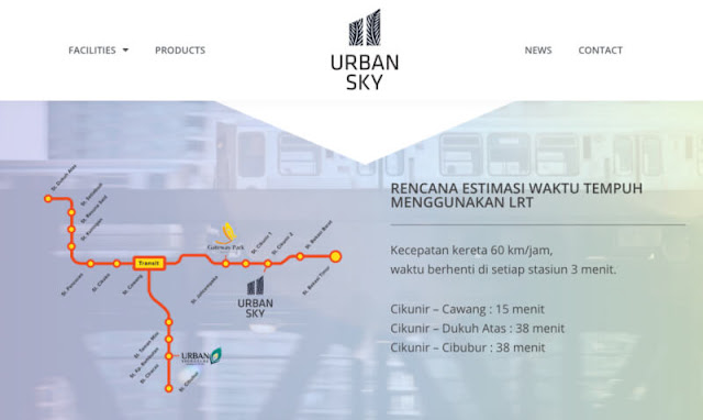 Urban Sky, Apartemen di Bekasi Berkonsep TOD yang Terintegrasi LRT