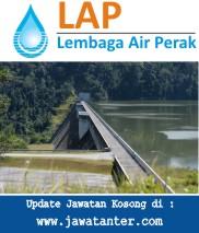 Jawatan Kosong Lembaga Air Perak (LAP)
