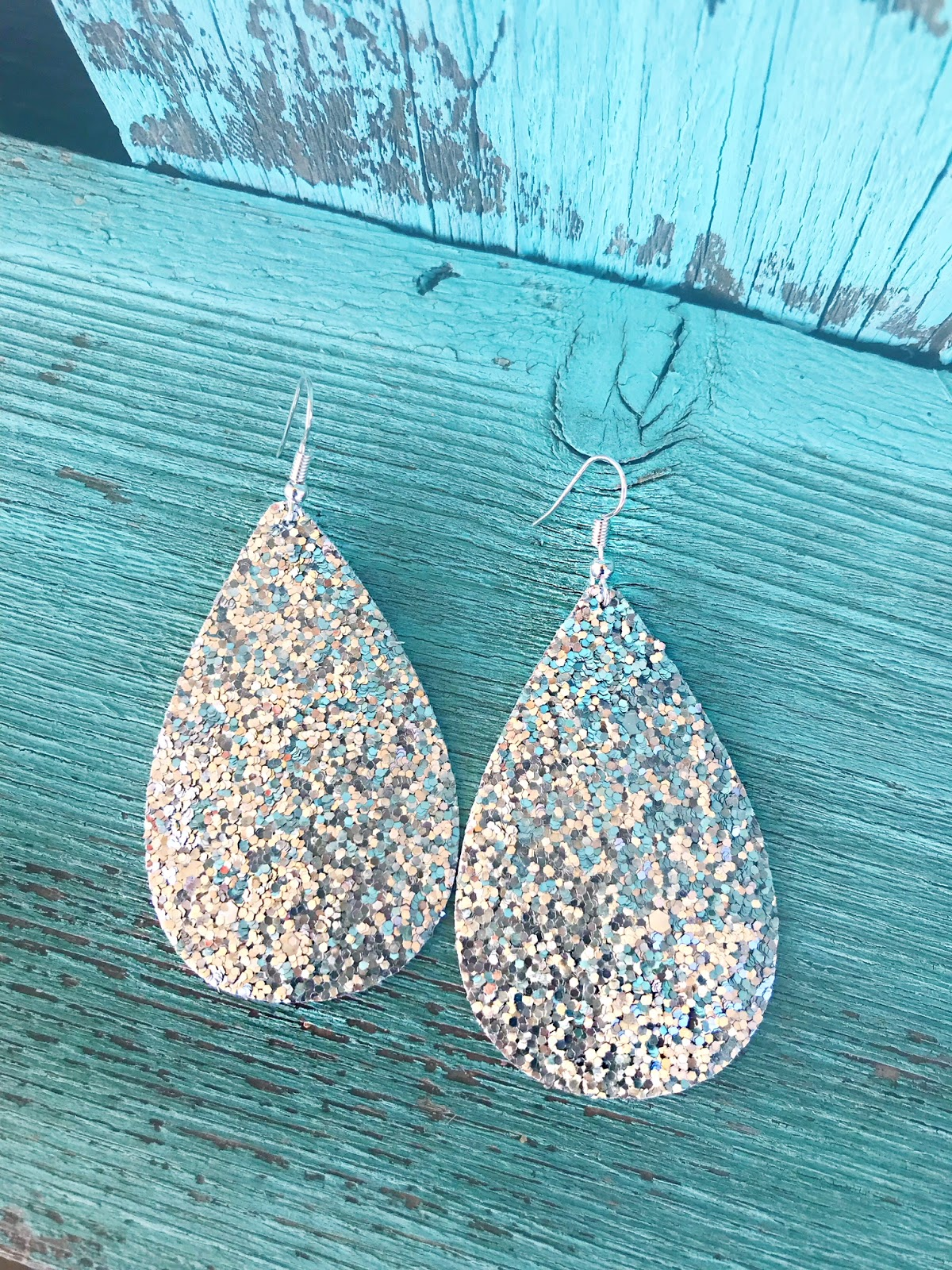 DIY Faux Leather Earrings - Hall Around Texas