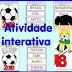 ATIVIDADE INTERATIVA SOBRE A COPA MUNDIAL DE 2018 PARA IMPRIMIR
