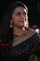 Actress Sri Divya Latest Pos in Black Saree at Sangili Bungili Kathava Thora Tamil Movie Audio Launch  0006.jpg
