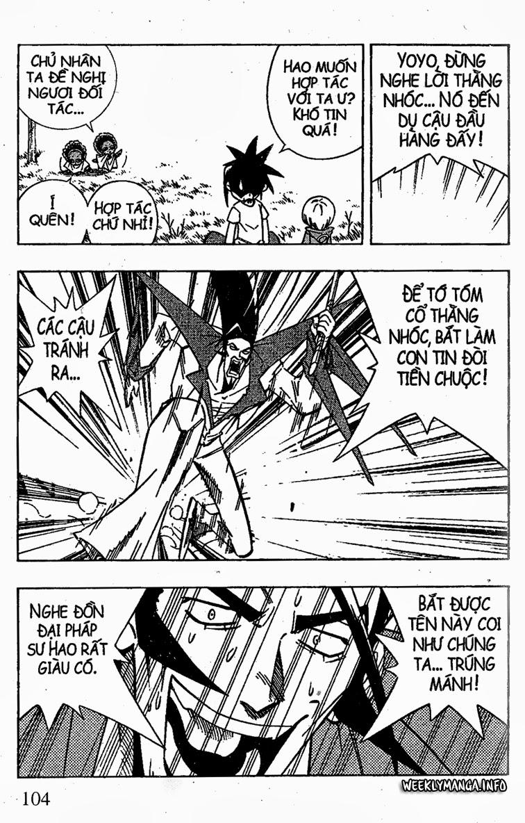 Shaman King [Vua pháp thuật] chap 208 trang 18