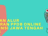 Jadwal dan alur pendaftaran PPDB Online SMA Provinsi Jawa Tengah 2017/2018