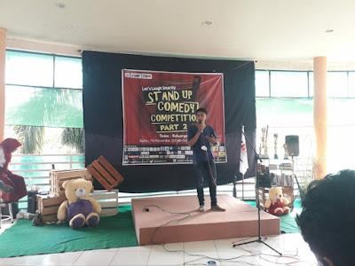 Unit Kegiatan Mahasiswa IAIN Surakarta (T-MAPS) Selenggarakan Stand Up Comedy Competition Part 2