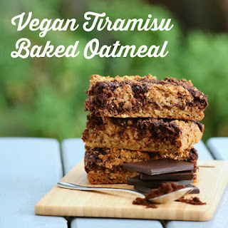 Vegan Tiramisu Baked Oatmeal Recipe