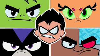 Teen Titans Go to the Movies Background