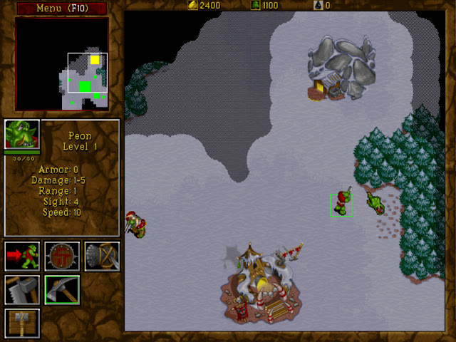 Warcraft 2 Peon Screenshot