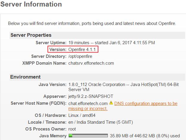 Install Openfire Centos 5 - sevenbusy