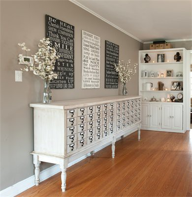 Bedroom Dresser Card Catalog: You Could Organize All Of Your Socks U0026 Undies  By Color!