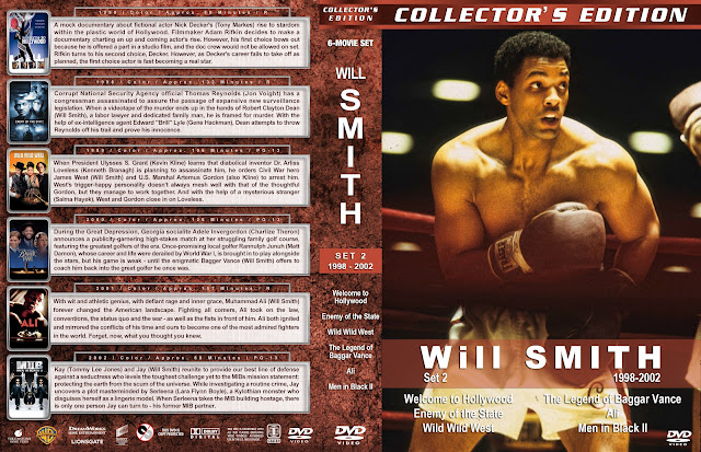 Will Smith Collector's Edition Set 2 1998-2002 DVD Cover