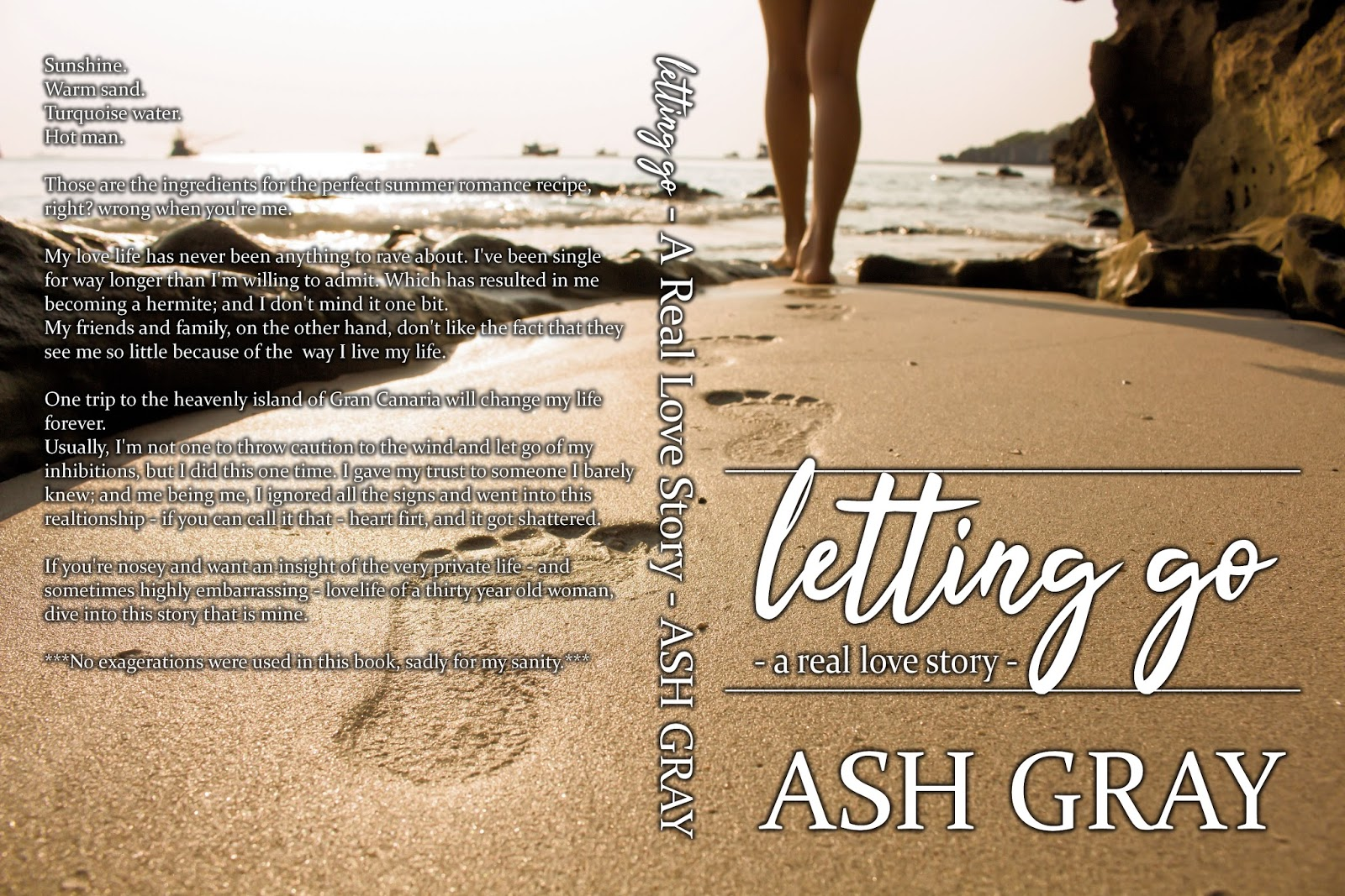 Cover Reveal - Letting Go by Ash Gray