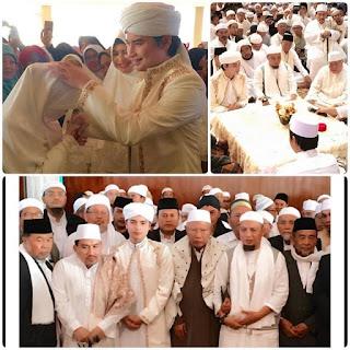 Surat Cinta Ustadz Arifin Ilham untuk Anaknya Alvin yang Menikah di Usia Muda 17 Tahun
