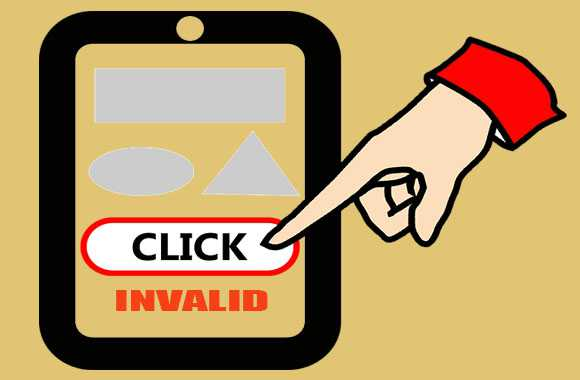 invalid klik iklan adsense