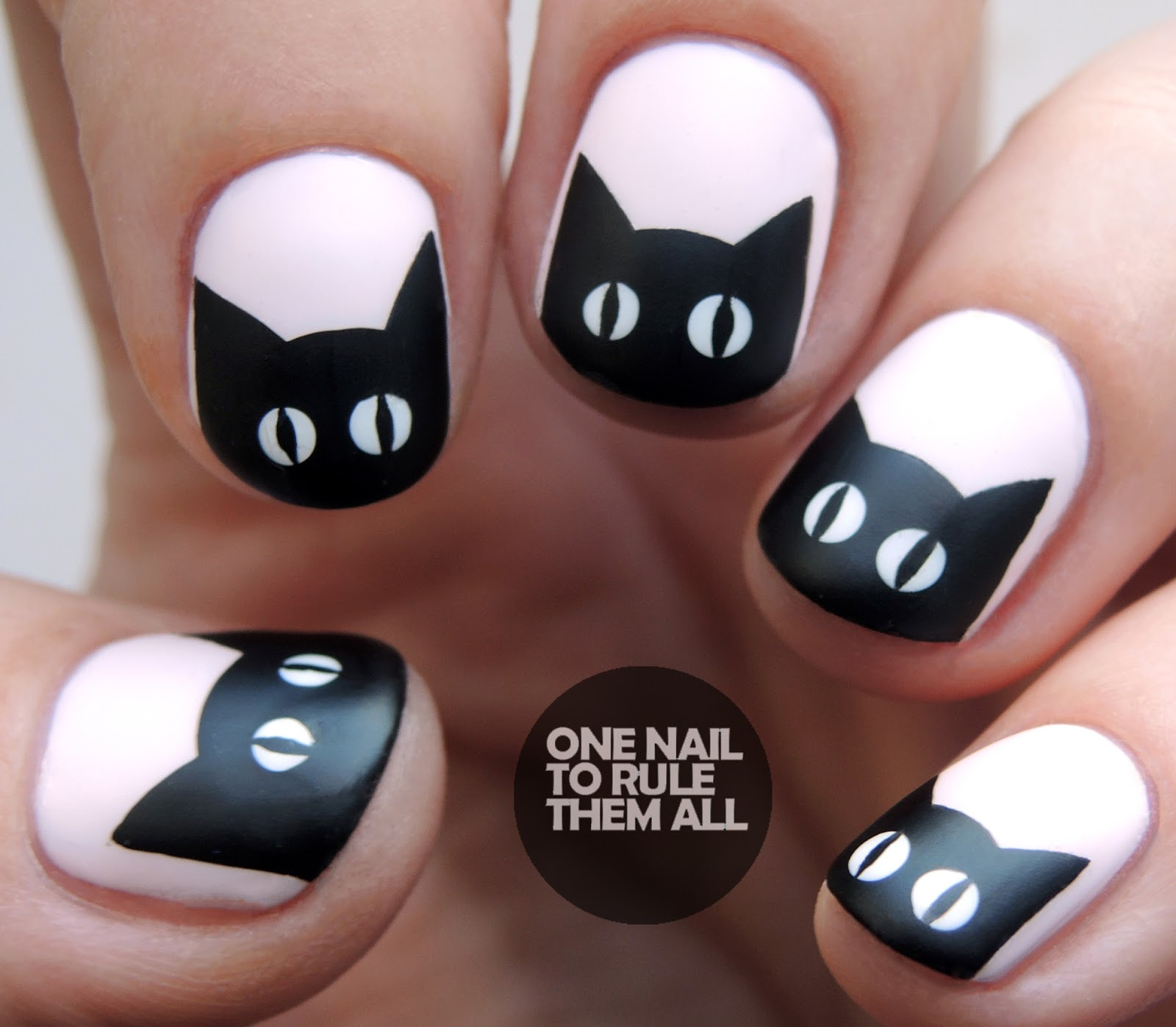 One Nail To Rule Them All: Barry M - Black Cats
