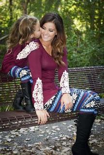 Baju Couple Cantik Ibu dan Anak 20006