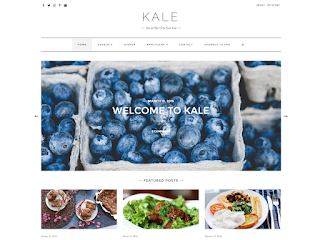 шаблоны WordPress Kale