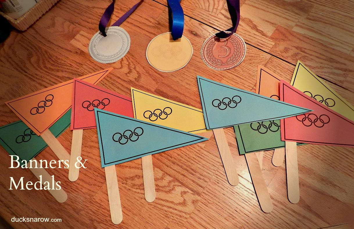 Ducks N A Row O Is For Olympics