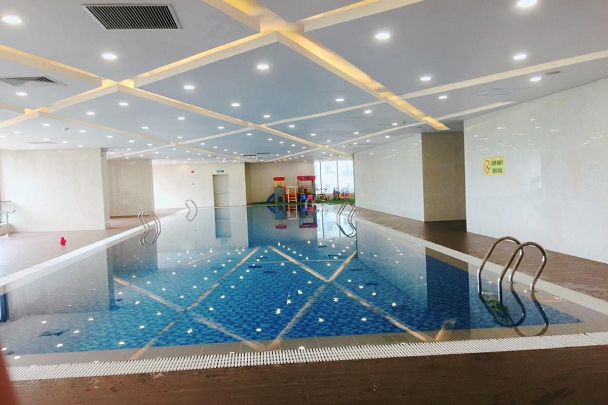 Bể bơi trong nhà dự án TNR Goldmark City