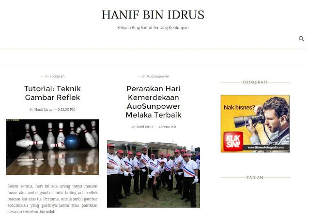 Hanif Idrus New Templates September 2016