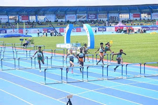 2018 african athletic championship 100m women race