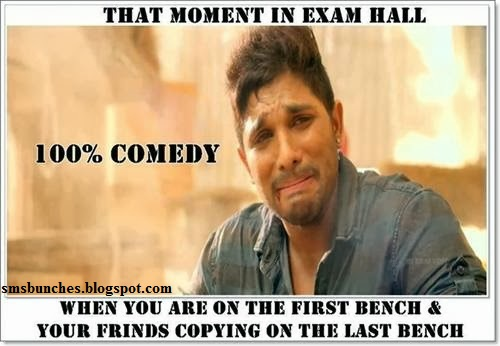 Exams related funny status