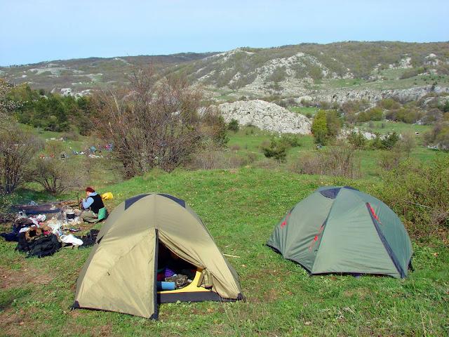 Самые высокие горы Украины. Котловина Беш-Текне