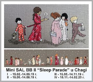 "Mini SAL BB II – ""Sleep Parade"" – część 1"