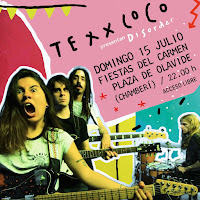 Concierto de Texxcoco en la Plaza de Olavide
