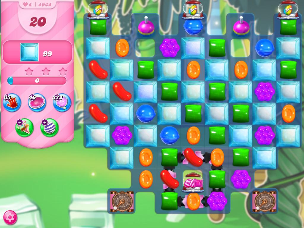 Candy Crush Saga level 4944