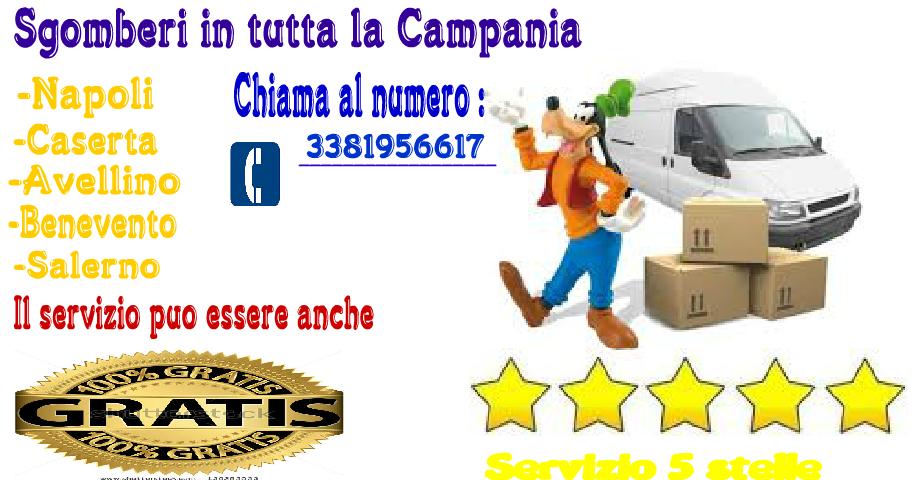 Sgomberi napoli appartamenti cantine box garage for Offro mobili gratis