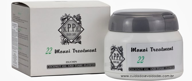 Plástica de Fios da N.P.P.E Hair Care MONOI TREATMENT