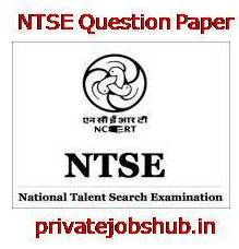 NTSE Question Paper