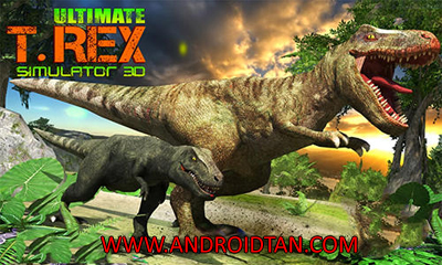 Download Ultimate T-Rex Simulator 3D Mod Apk v1.2 (Mod Skill Points) Terbaru