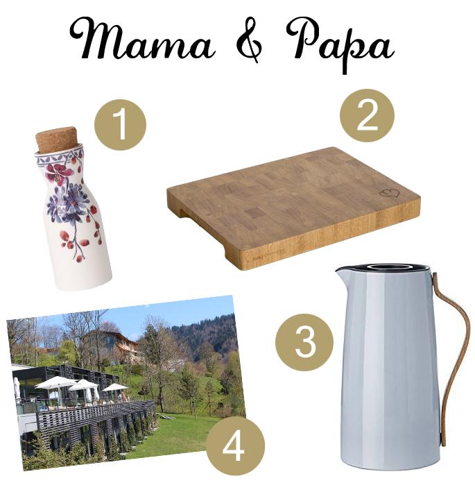 Geschenke für Mama und Papa zu Weihnachten