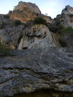 Toba o cascada de piedra