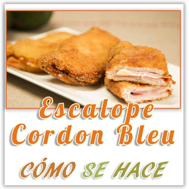 ESCALOPE CORDON BLEU