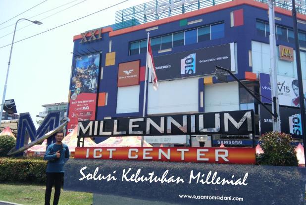 Millennium ICT Center, Solusi Kebutuhan Millenial