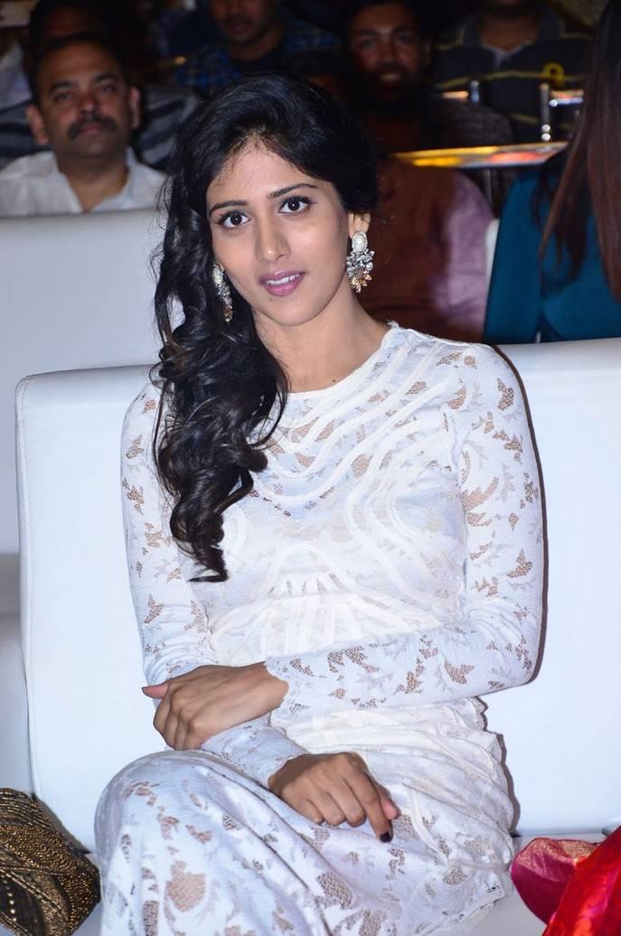 Chandini At Shamanthakamani Pre Release Function Stills