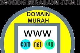 Domain Web ID CUMA 7 Ribu, Buruan sebelum Habis