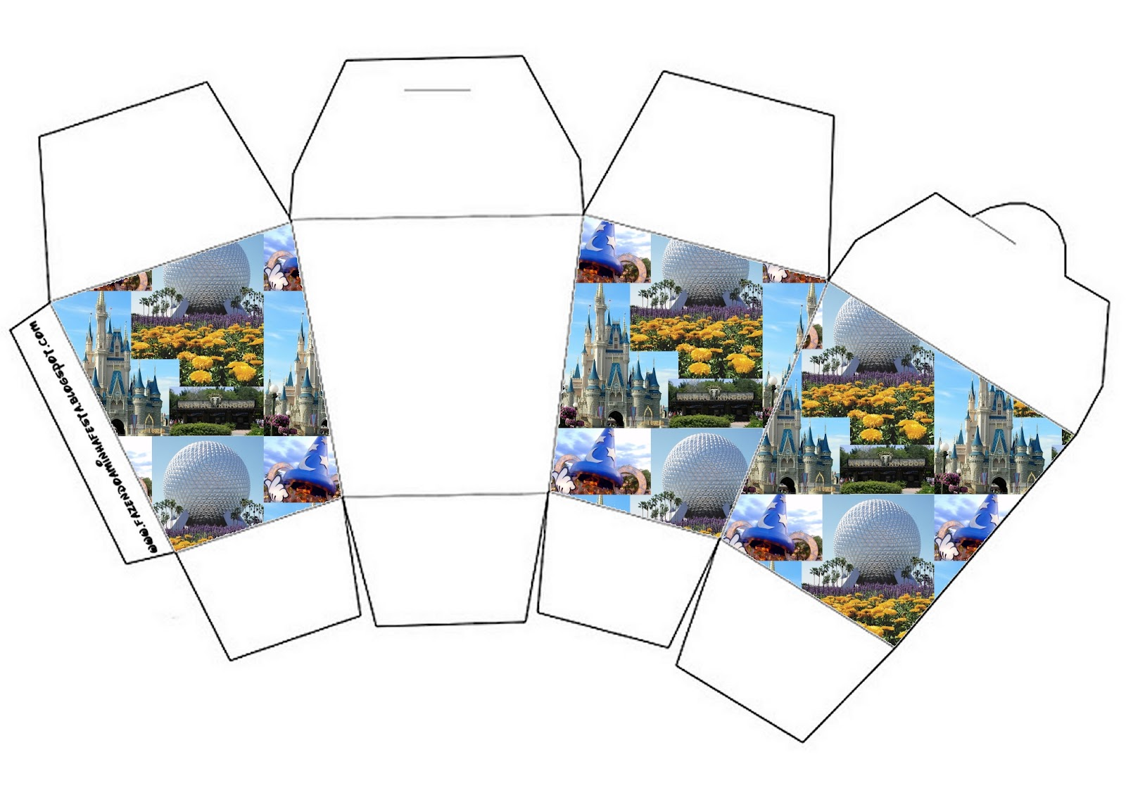 Walt Disney World Free Printable Boxes