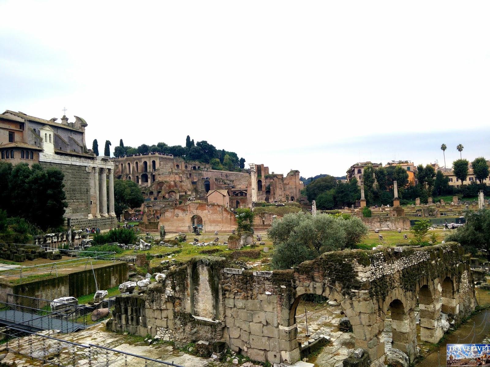 Rome Italie Forum