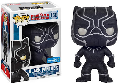 "Walmart Exclusive Captain America: Civil War ""Onyx Glitter"" Black Panther Pop! Marvel Vinyl Figure by Funko"