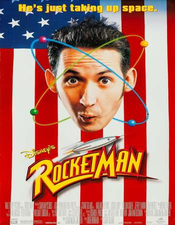 Poster Of RocketMan 1997 Hindi Dual Audio 400MB Web-DL 720p ESubs HEVC Free Download Watch Online downloadhub.in